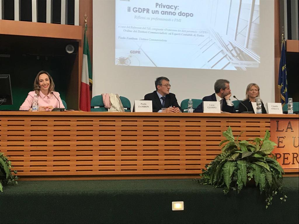 """Convegno """"Privacy: il GDPR un anno dopo"""" – 24/05/2019"""