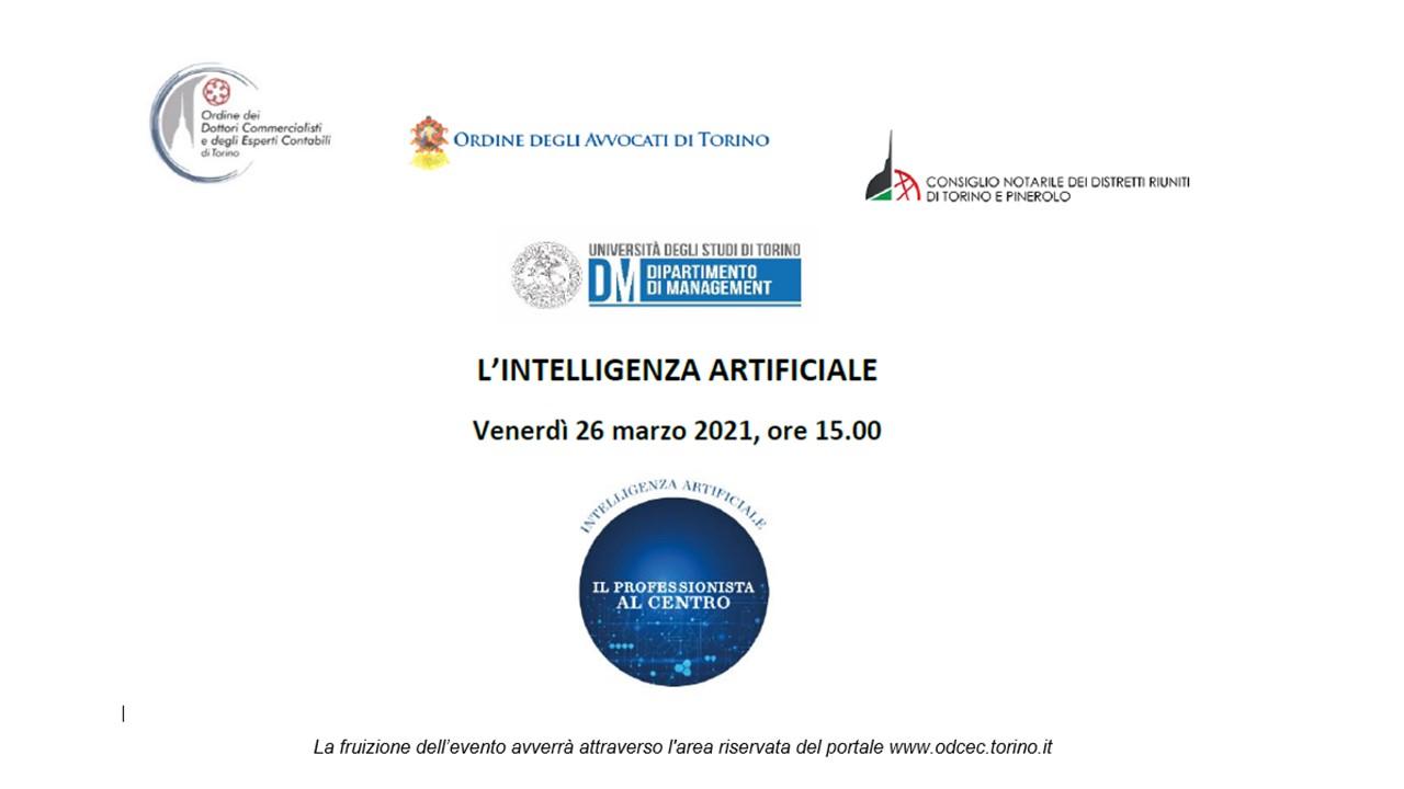 Intelligenza artificiale: il Professionista al centro